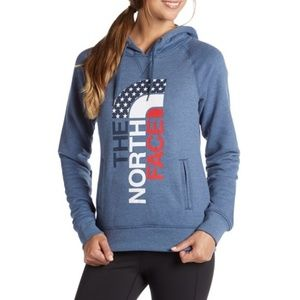 THE NORTH FACE USA PULLOVER HOODIE
